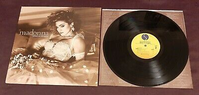 Madonna LP Like a Virgin 1984 Sire 1-2515 excellent with inner sleeve