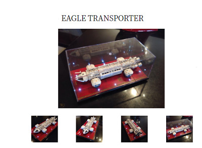 Space 1999 Eagle-1 TRANSPORTER Gerry Anderson show,Prop With Lighting+Case