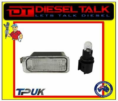 Ford Fiesta Number Plate Light Lamp & Bulb For 2008 Onward