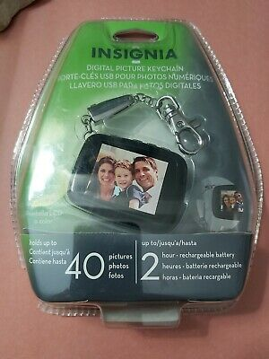 "New insignia digital picture frame 1.8"" LCD sealed"