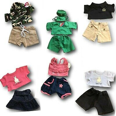 Teddy Bear Clothes fit 15 inch Build a Bear Clearance Clothing Outfits