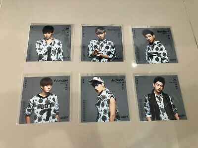 Got7 - Around The World [Japan Official] Card