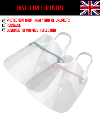 2 x PPE full face visor shield for work protection FAST AND FREE UK DELIVERY