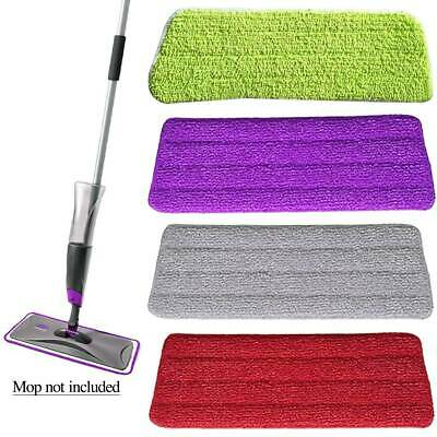 Microfibre Refill Pad Spray Floor Mop Replacement Head Sweepers Home Cleaning AU