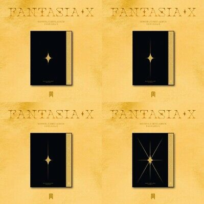 MONSTA X - FANTASIA X Mini Album [4set] CD Photobook Photocard Poster + Preorder