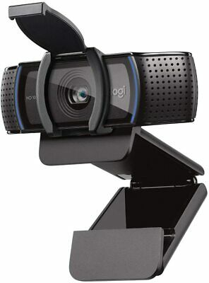 Logitech C920s Pro HD 1080p USB Webcam with Privacy Shutter IN HAND, ships ASAP!