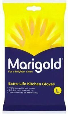 Marigolds Extra Life Kitchen Glove Large 1 x 6 pairs