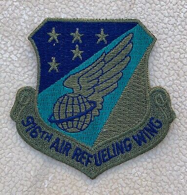 Tennessee Air Force Guard 134th KC-135 Refueler Dragon Draggin Fighter Patch