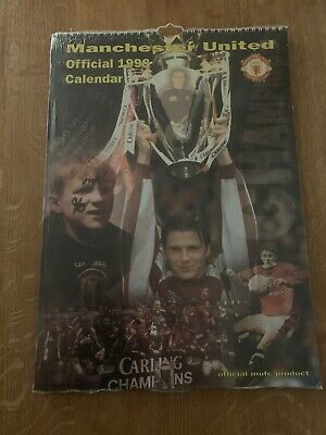 1998 Manchester United Calender - Sealed As New