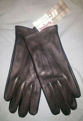 Gloves NEW - Women's Black Leather Winter Gloves S/M, $32