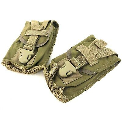 Eagle Industries Canteen General Purpose Pouch, Military Coyote USMC, 2 PACK