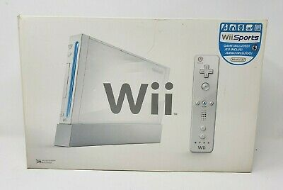 Nintendo Wii Console System EMPTY BOX ONLY (NO CONSOLE)