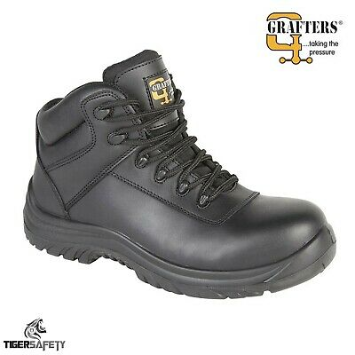 Delta Plus Calypso Black High Leg 100/% Metal Free Wide Fitting Safety Boots PPE