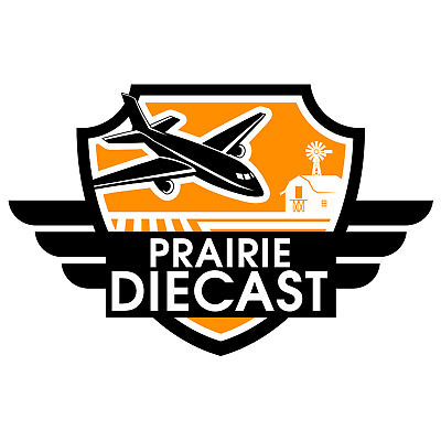 10% off coupon for prairiediecast.ca - diecast scale 1:400 airplanes