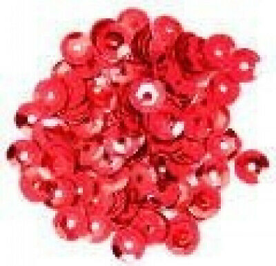 (Silver) - Craft Factory CF01/40501 | Silver Cup Sequins | 5mm | approx 5g