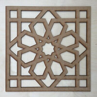 Radiator Cabinet Decorative Screening Square Radiator Grille MDF 3mm and 6mm P80