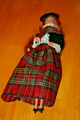 1990 Mattel SCOTTISH BARBIE DOLL OF THE WORLD-NO BOX