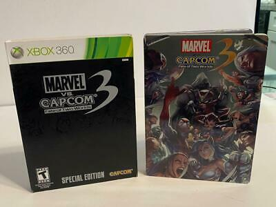 Microsoft Xbox 360 Marvel Vs. Capcom 3 Fate Of 2 Worlds Video Game Tested Works