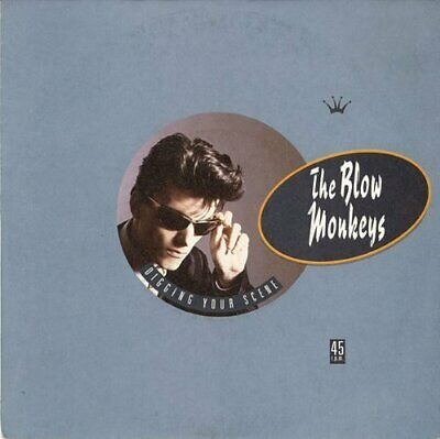 "Blow Monkeys + 7"" Single + Digging your scene (1986)"