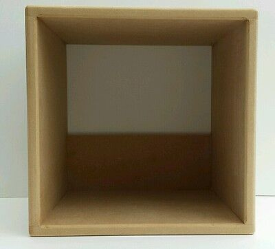 """12 """" Record Storage Cube  ( TWIN CUBE SPECIAL OFFER )"""