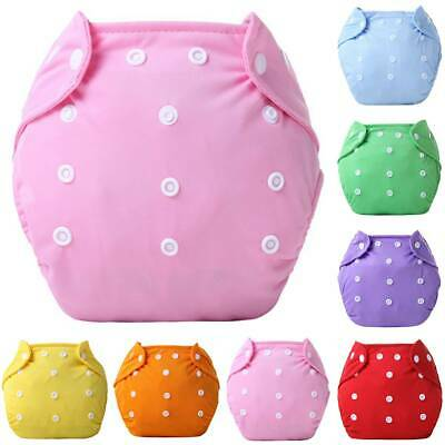 Reusable Baby Safe Nappy Cover Cloth Diaper Cover Washable with Adjustable Wrap