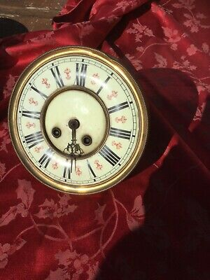 Fine Urania Vienna Regulator Clock Movement And Dial Outside Count wheel