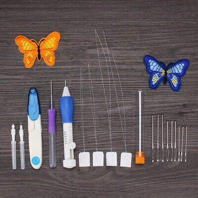 3D Embroidery Craft Hand Sewing Needles Round Head Needle Craft DIY Fitting Tool