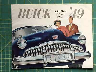 1948 and 49 BUICK NEW CAR BROCHURES, TWO DIFFERENT ONES NEAT, RARE