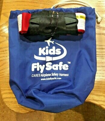 Kids Fly Safe CARES Airplane Safety Harness