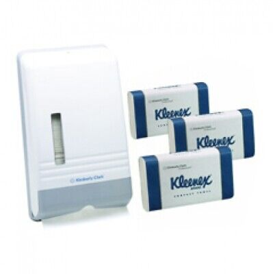 New Kimberly Clark Kleenex 4441 Towel Starter Pack - 15 X Kc4440 Hand Towel