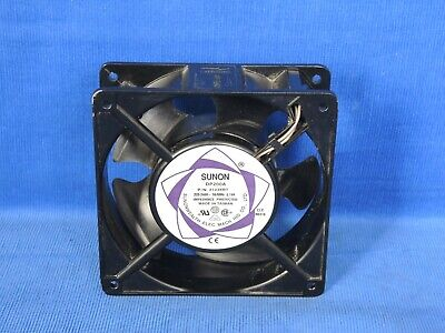 Sunon DP200A Tube axial cooling fan 220-240 VAC, 120 mm