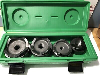 Greenlee 7304 Knockout Set from 2 1/2 to 4 inch #A