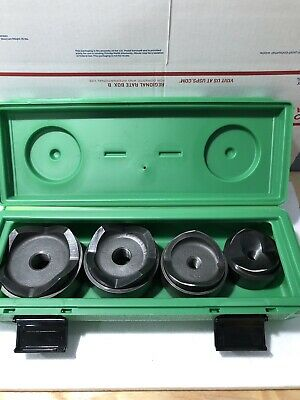Greenlee 7304 Knockout Set from 2 1/2 to 4 inch #B