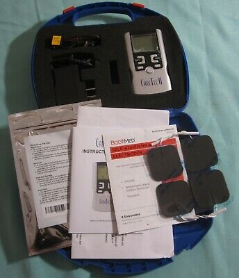 CareTec II TENS and EMS Combination Stimulator NEW in Case w Pads