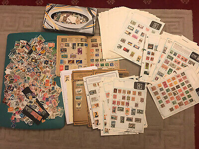 Large World Mixed Used Stamps Unchecking Estimated  Over 3000 And Much More?