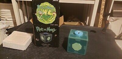 Rick and Morty 4.5 Inch Meeseeks Box O Fun Collectible Ceramic Coin Bank