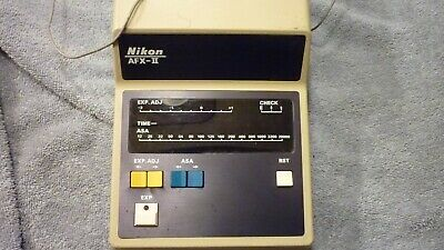 Nikon AFX II Microscope Camera Controller TESTED Good Condition with REMOTE