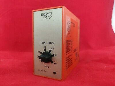Broyce B8Do Relay Timer 60Mins 12Vdc