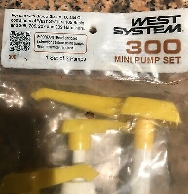 West Systems 300 Pumps