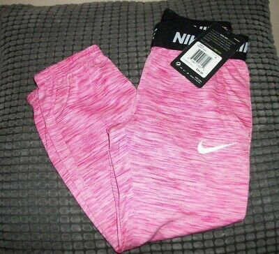 BNWT !!!  - GIRLS DRI-FIT JOGGERS FOR THE SUMMER - PINK - NIKE - Ages 2/3/4/5