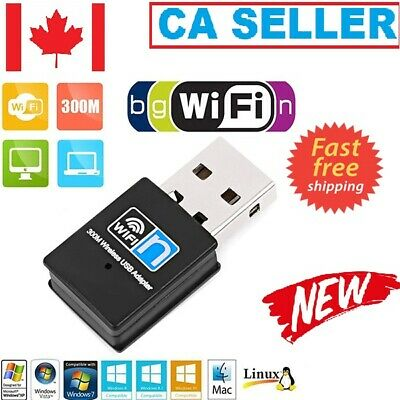 300Mbps USB WiFi Adapter Wireless LAN Network Card Adapter WiFi Dongle for PC