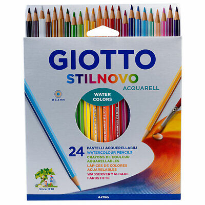 Fila Lyra Giotto Stillnovo Watercolour Pencils 24 Set