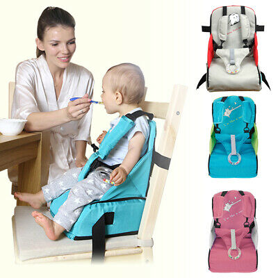 Detachable Children Booster Seats Folding Traveling High Chair Baby Feeding