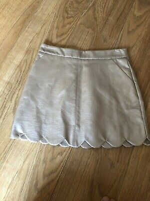 Girls Age 10-11 M&S Autograph Skirt Pink Mix Gold Marks And Spencer Child