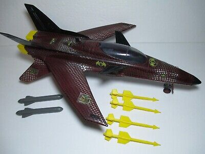 Vintage GI Joe 1989 Python Patrol Conquest Jet Replacement Yellow Missile Part