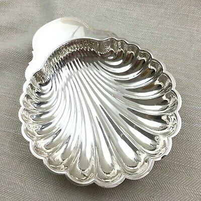 Christofle Silver Plated Large Serving Bowl St Jacques Fleuron Shell Coquille