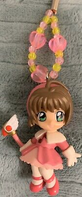 Cardcaptor Sakura Mascot Figure Mobile Beads Strap CLAMP SEGA JAPAN ANIME