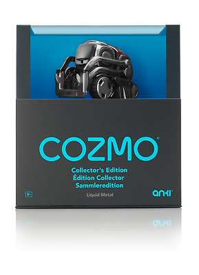 Anki Cozmo Collector's Edition Liquid Metal Silver Brand New Sealed