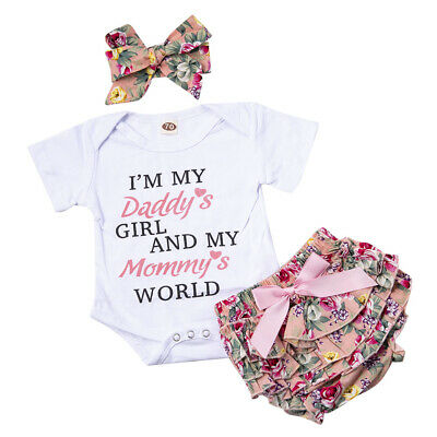 Infant Baby Girls Boys Long Sleeve Bodysuit Little I Love Austria Cotton Romper Outfit