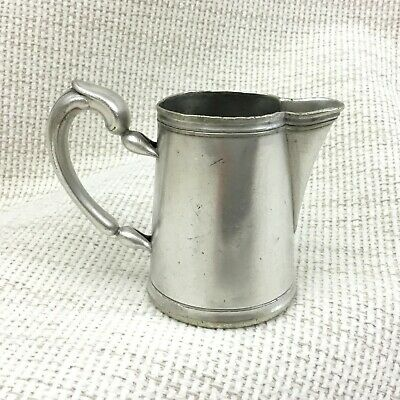 Christofle Silver Plated Creamer Jug Small Dainty Original French Antique